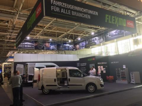 FLEXMO stand IAA Hannover 2016