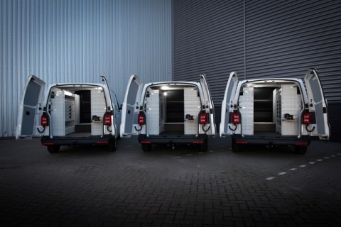 FLEXMO bedrijfswageninrichting voor nieuwe bestelautos van Bercomex